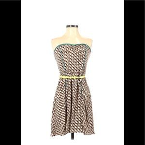 Casual belted dress